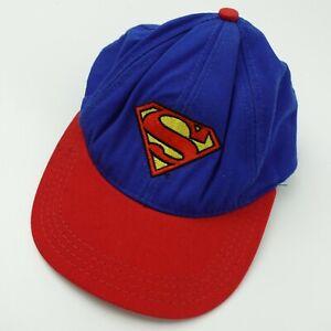 Superman Warner Bros Studio Store Kid's Ball Cap Hat Snapback Baseball