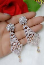 American Diamond Charming Stone Studded Beautiful Shiny Earrings For Women