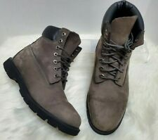 """Timberland Men's Size US 8 Boot 6"""" Basic Boot Grey Work S-77"""