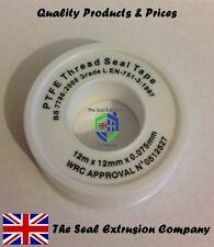 PTFE Tape,Thread Seal,Plumbing,Plumber,Joint,Sealing,Leak,Teflon,Pipe,12mm x 12m