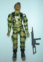 1982 GI Joe Ranger Stalker Straight Arm v1 Figure Parts Pieces *Complete BROKEN*