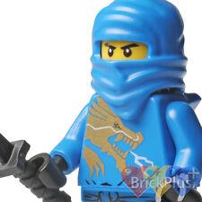 LEGO Ninjago Jay DX Dragon Suit w/ Black Katana Shamshir  2519 2521 njo016 - NEW