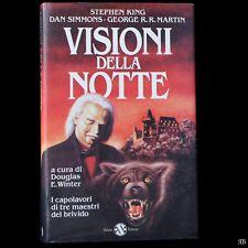 Stephen King Dan Simmons G. Martin - VISIONI della NOTTE - Salani  9788877821287