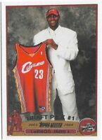 MVP LeBron James Topps Reprint 2003-04 RC Draft Pick #1 CAVS LAKERS HOF #221