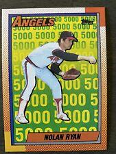New listing MINT Nolan Ryan 1990 Topps Baseball Card #3 Possible PSA 10? 9? GEM MT 5000ks