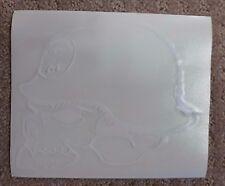 "Metal Mulisha stickers 6 inch "" Skull W ""  Sticker --Free Shipping"