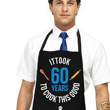 Sessantesimo compleanno Grembiule da uomo ha 60 anni per cucinare questa buona kepster Grembiule