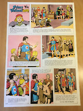 Harold, Hal Foster PRINCE VALIANT Proof Page 1967 Full Size syndicate proof rare