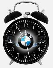 "BMW Alarm Desk Clock 3.75"" Home or Office Decor E296 Nice For Gift"