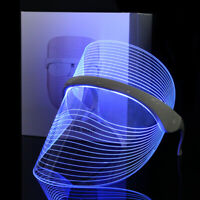 Magic Red/Blue/Yellow LED Light Photon Therapy Facial Mask Anti-aging Skin Care
