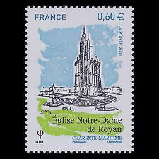 France 2011 - Royan's Church Architecture - Sc 3991 MNH