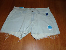 New Womens Size 4 Old Navy Light Blue Denim Jean Shorts Cut Off Low Rise @@