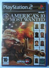 AMERICA'S 10 MOST WANTED PS2 PLAYSTATION TWO EDIZIONE ITALIANO NUOVO