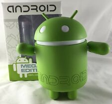 MEGA Edition Green ANDROID Robot Can COOLER STASH BOX VINYL FIGURE GOOGLE Rare