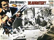 Film massacre blaxploitation jim brown crime drama art print poster BB7588