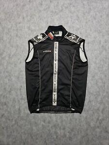 sz S Mens Cycling Assos Prosline Air block Vest Gilet Size Black Windproof