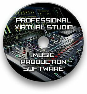 MULTI-TRACK MUSIC EDITING, MIXING, RECORDING VIRTUAL STUDIO PRODUCTION SOFTWARE