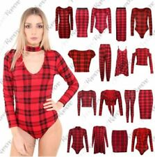Red Cropped Body Tops & Shirts for Women