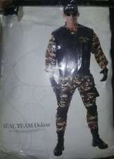 Seal Team Deluxe Costume Adult Men's Size XL/X-Large Military