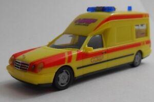 Herpa 045513 MB W 210 Binz Ambulance 1:87 NEU OVP