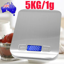 Kitchen Scale Digital Postal LCD Electronic Weight Scales Food Shop 5kg/1g