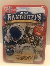 T.S. Shure Handcuffs Tin Playset