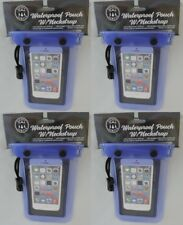 4 Waterproof Cases Cover For Cell Phones, Wallet, Cameras, Money Keys