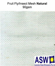 3m x 50m roll GARDEN FRUIT FLY INSECT MESH Protection Netting Shade Bug Screen