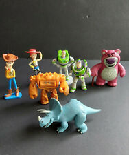 Official Disney Pixar Toy Story Lot Figures Lotso Woody Jesse Trixie Chunk Buzz