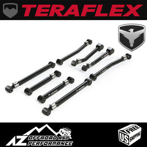 "TeraFlex Alpine Adjustable 8 Control Arm Kit 0-4.5"" Fits '20+ Jeep Gladiator JT"