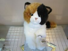 Webkinz Signature Calico Cat Sweet Face New Sealed Tag & Code +Gift Hockey Coin!