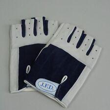ABVERKAUF: J.F.D. Segelhandschuhe Gr. XXL /  9 kurz halbe Finger Leder