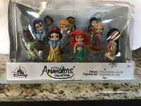 Disney Animators' Collection Deluxe Figure Play Set Ariel Snow White Belle Mulan