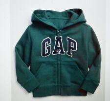 NWT Toddler Boys size 3T Gap Logo Zip Hoodie in Fleece