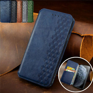 Luxury Leather Wallet Flip Phone Case Cover For iPhone 7 11 12 Pro Max XR 8 Plus