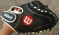 """Wilson A1000 Catchers Glove 33"""" A10rb19cm33 Full Leather"""