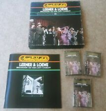 NEW American Musicals Lerner & Loewe 3 Audio Cassette Box Set