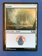 "Mtg Misprint Double Print Jumpstart M21 Island Swamp Error Oddity ""Dual Land"""