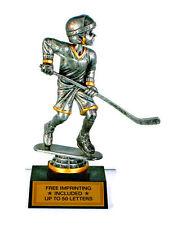 Hockey, Male- Bobblehead- Ice Hockey- Desktop Series- Free Lettering-