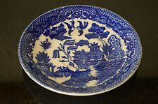 Vintage  BLUE/WHITE PATTERN, doll saucer/plate, MADE IN JAPAN