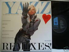 "Yazz The Wanted Remixes! 12"" LP Big Life BLRXLP1C EX/EX"