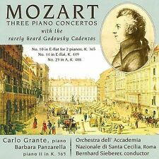 Mozart: Three Piano Concertos (with cadenzas by Leopold Godowsky), New Music