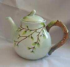 Silvestri Flowering Etched Tree Branch Teapot Nib 2010 Retired