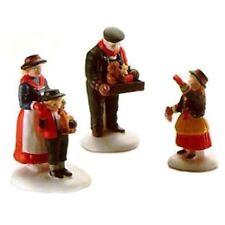 Dept 56 Alpine Village The Toy Peddler 3 pc Set #56162 Retired