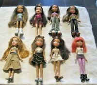 Bratz Doll Lot ~ 8 Fully Dressed Dolls with Footwear Lot (1)
