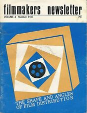 July August 1971~Filmmakers Newsletter~The Shape and Angles of Film Distribution
