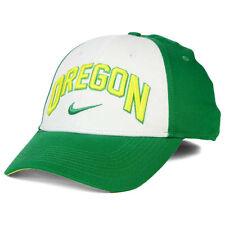 uk availability ef7fe 5cf7b Oregon Ducks NCAA Verbiage Swoosh Nike Legacy 91 Hat Cap University Eugene  OR O
