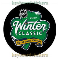 2019 NHL Winter Classic Souvenir Hockey Puck BOSTON BRUINS VS CHICAGO BLACKHAWKS