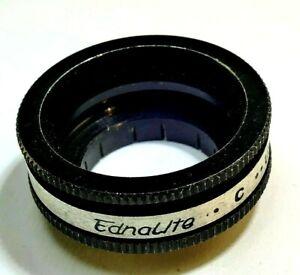 Ednalite C series IV 4 Filter holder w/ retaining ring 19mm slip on type