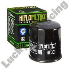 HIFLO Filtro HF303 Filtro de aceite para adaptarse a muchos modelos de Kawasaki Z ZX ZXR ZZR VN ER-6